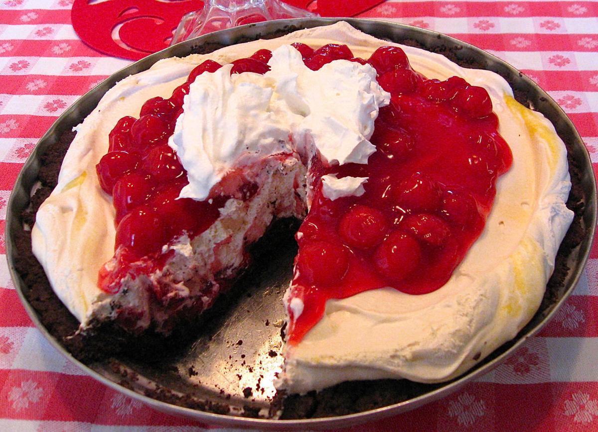 Heavenly cherry pie