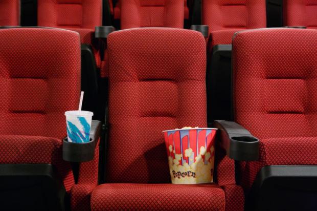 movie theater stockimage popcorn film theatre movies cinema