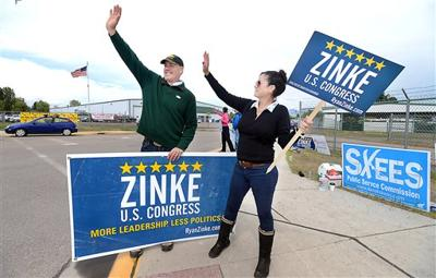 Ryan Zinke Montana House GOP race