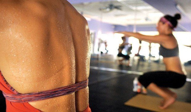 Sweating It Out Hot Yoga Enthusiasts See Benefits From Heat