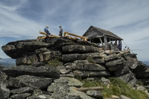 The scramble to Skookum Butte fire lookout is well worth the view