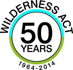 Wilderness Act 50 years logo