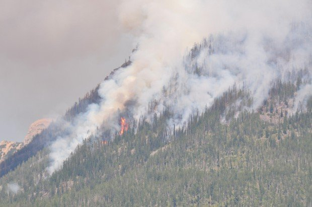 The Condon Mountain Fire