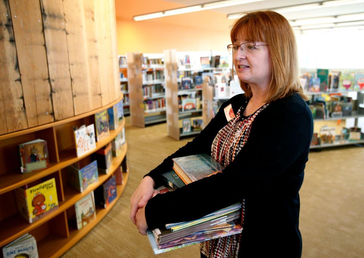 Librarian Allynne Ellis
