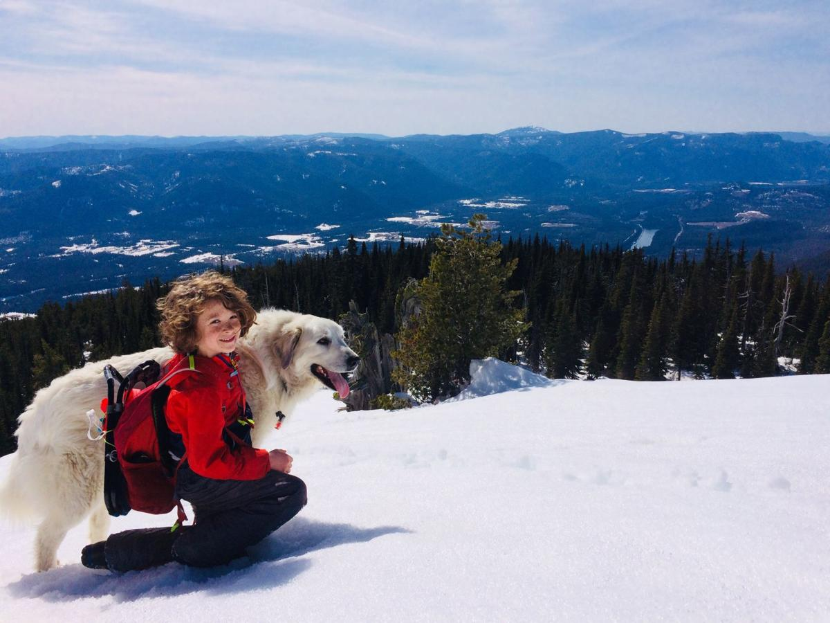 Star Peak in proposed Scotchman Peak Wilderness