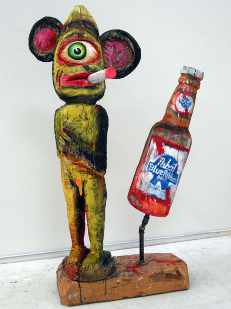 """Mascot"" by Jay Schmidt."