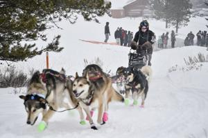 Mushers, sled dogs brave cold as annual Race to the Sky kicks off in Lincoln