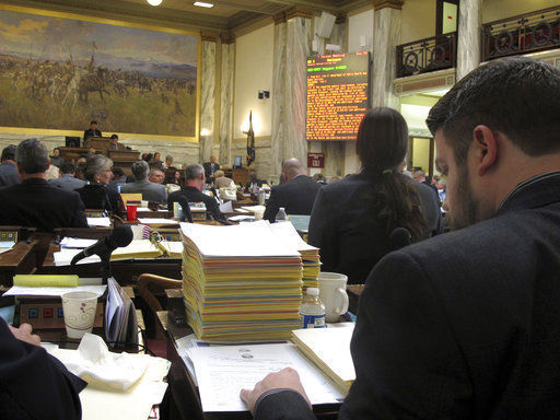 Last acts on biennial budget on House floor