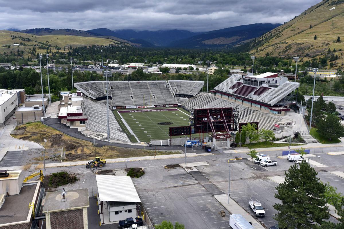Washington-Grizzly Stadium today