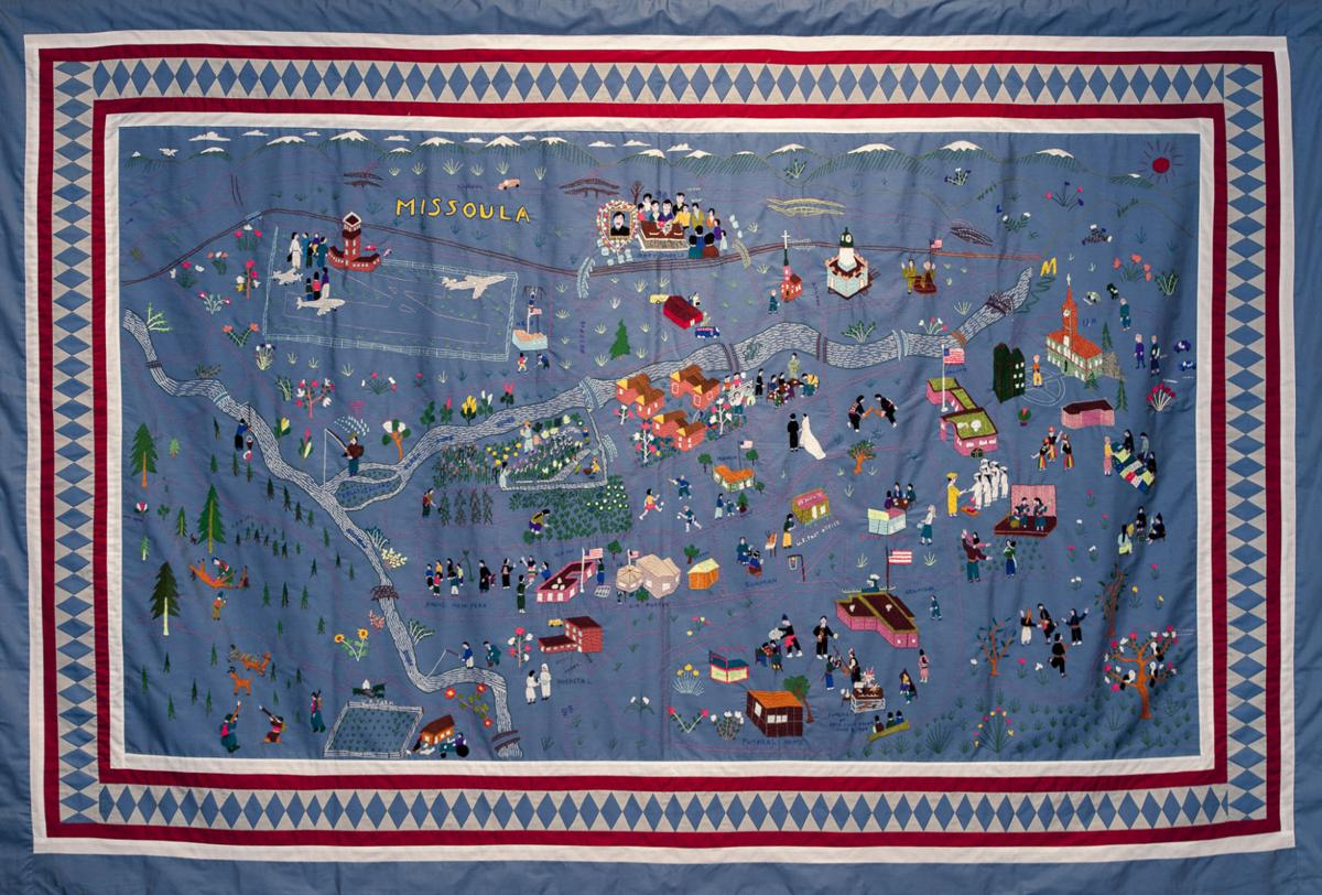 MMAC 120: Story cloth depicts Hmong in Montana | Arts and