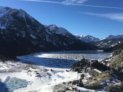 Mystic Lake winter