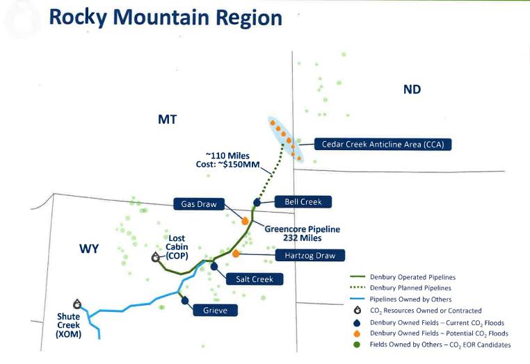Denbury Green Pipeline-Montana