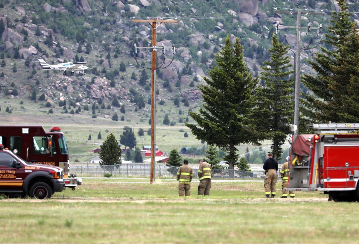 Emergency landing in Butte