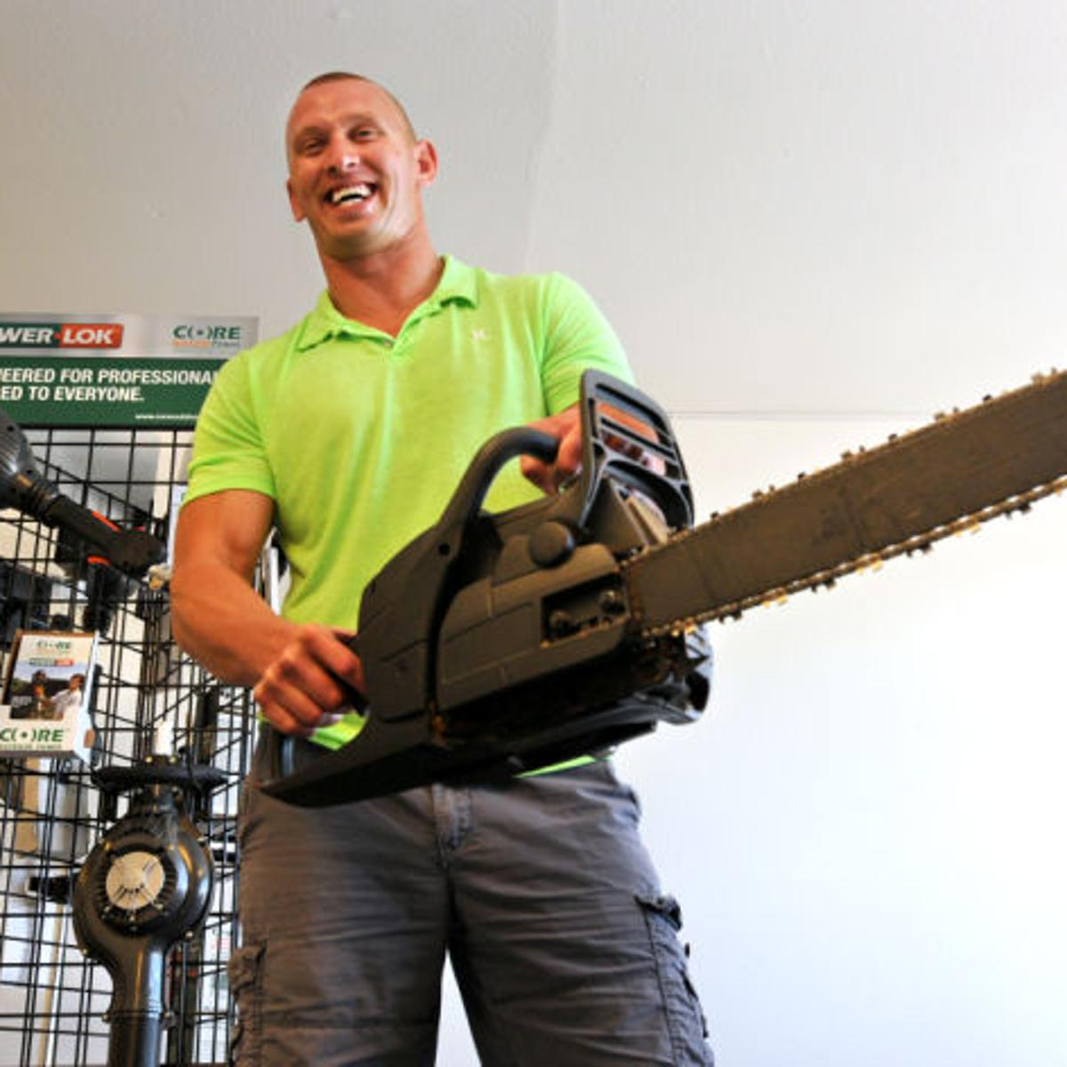 Polson manufacturer hopes electric lawnmower engine takes off