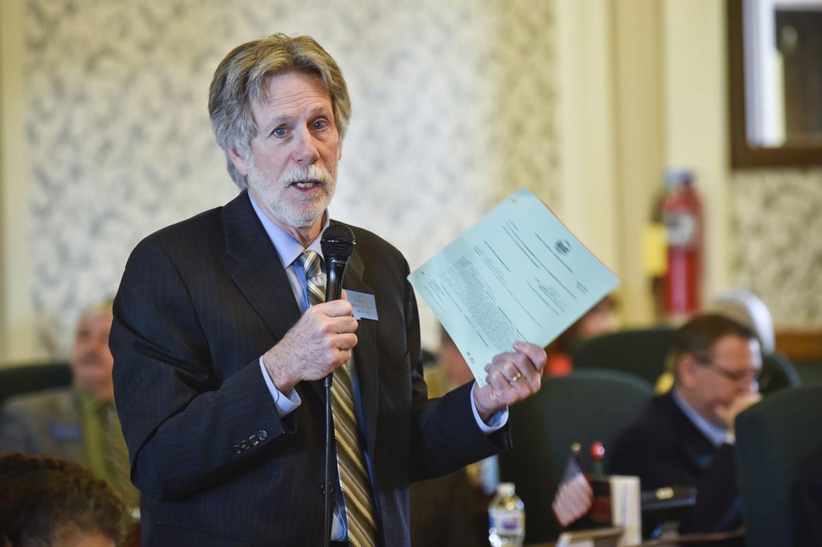 Senate Minority Leader Jon Sesso, D-Butte,
