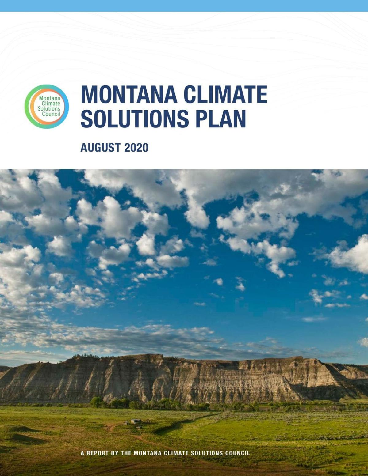 2020 Montana Climate Solutions Plan