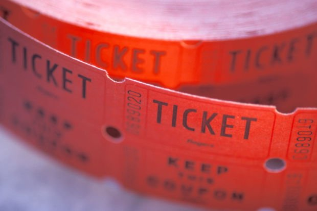 theater theatre play movie tickets stockimage
