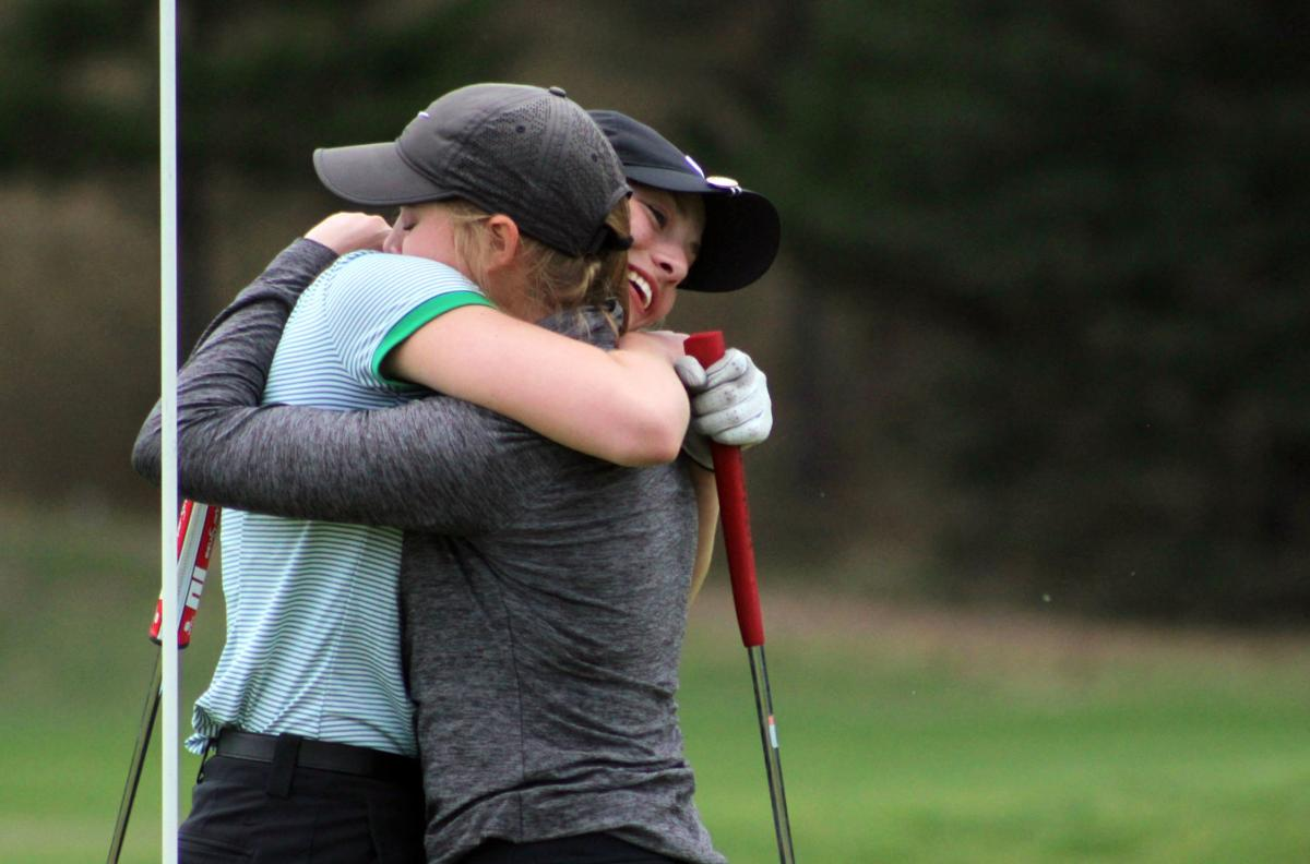 Championship hug