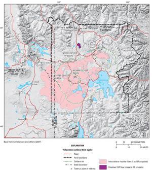 Caldera chronicles: Yellowstone caldera's volcanic giants hide in plain sight