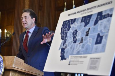 Gov. Steve Bullock argues Montana Medicaid is good for business