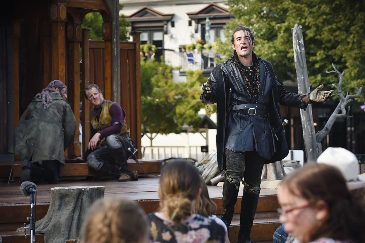 Shakespeare in the Parks performs Macbeth