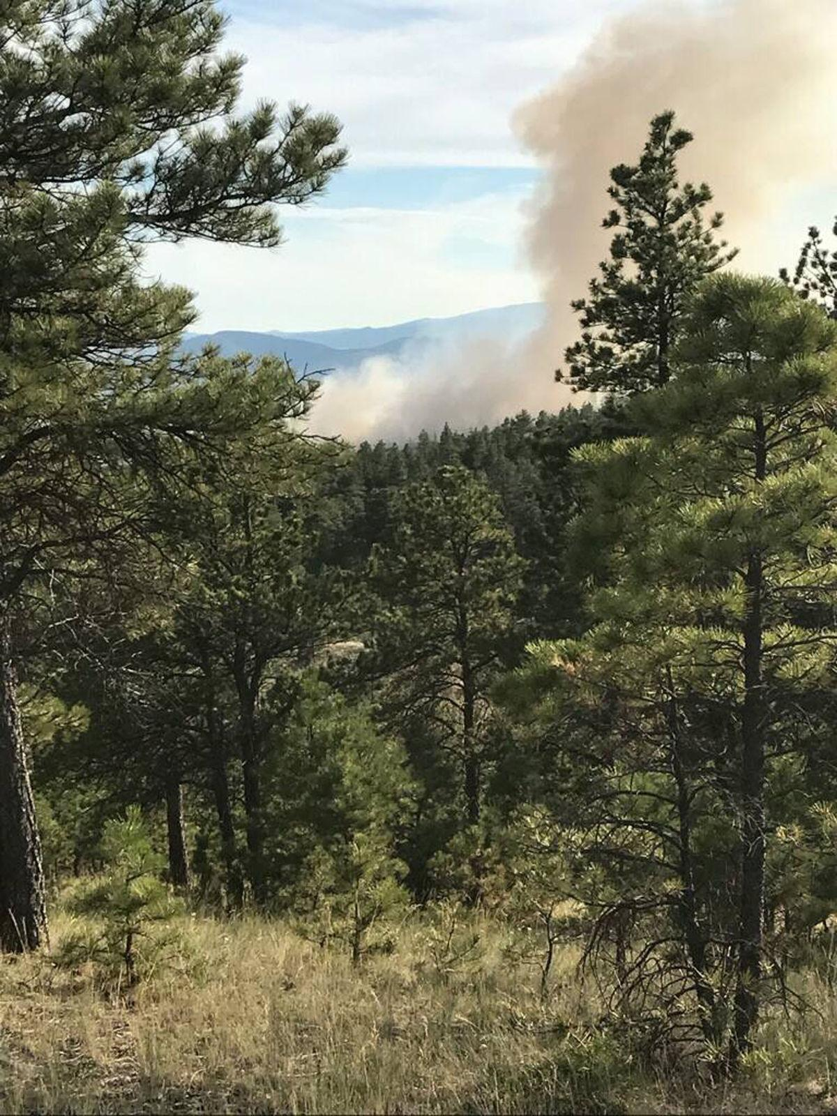 Helena-area fire