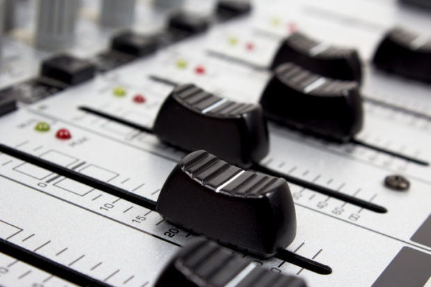 Sound mixer music stockimage board concert dj