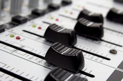 Sound mixer music stockimage board concert dj