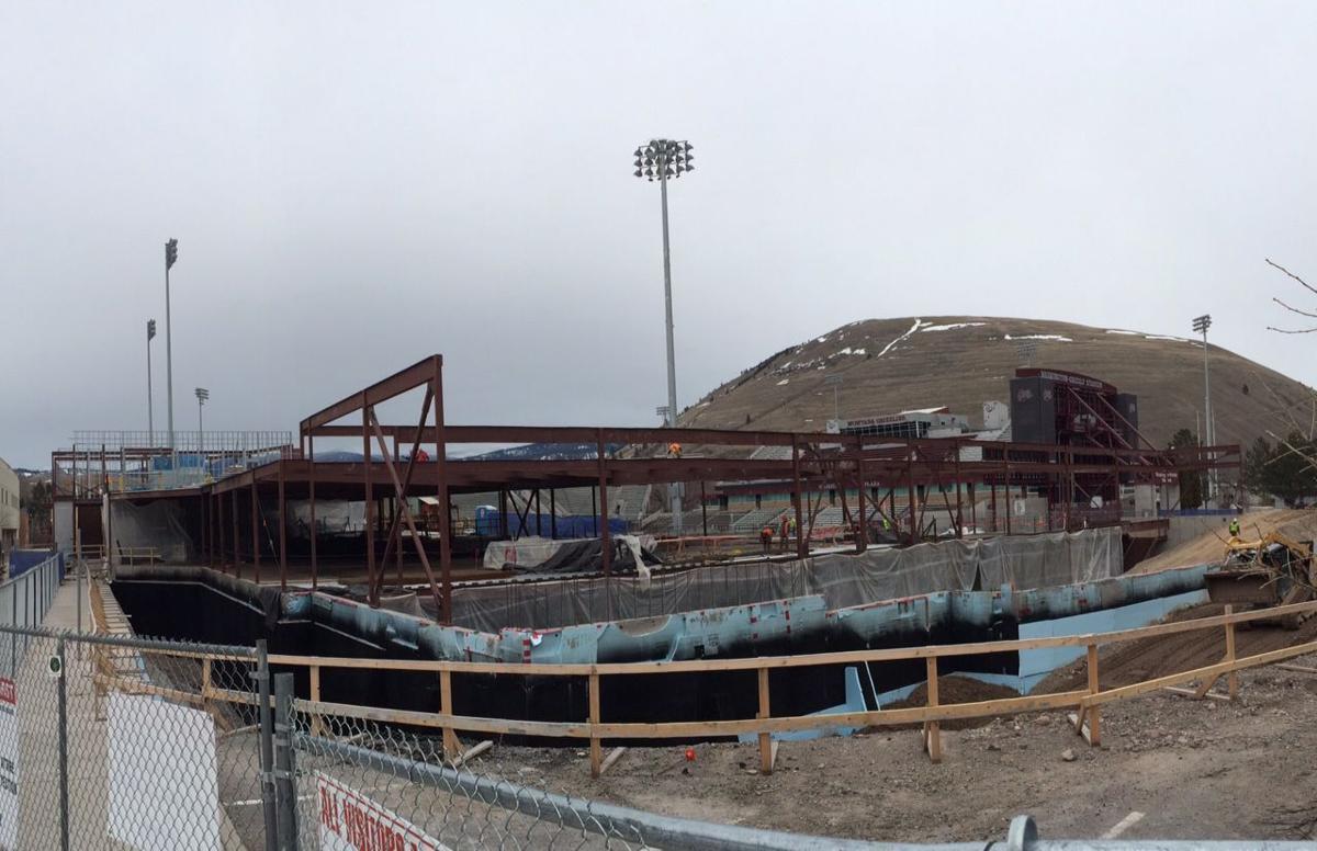 Champions Center construction