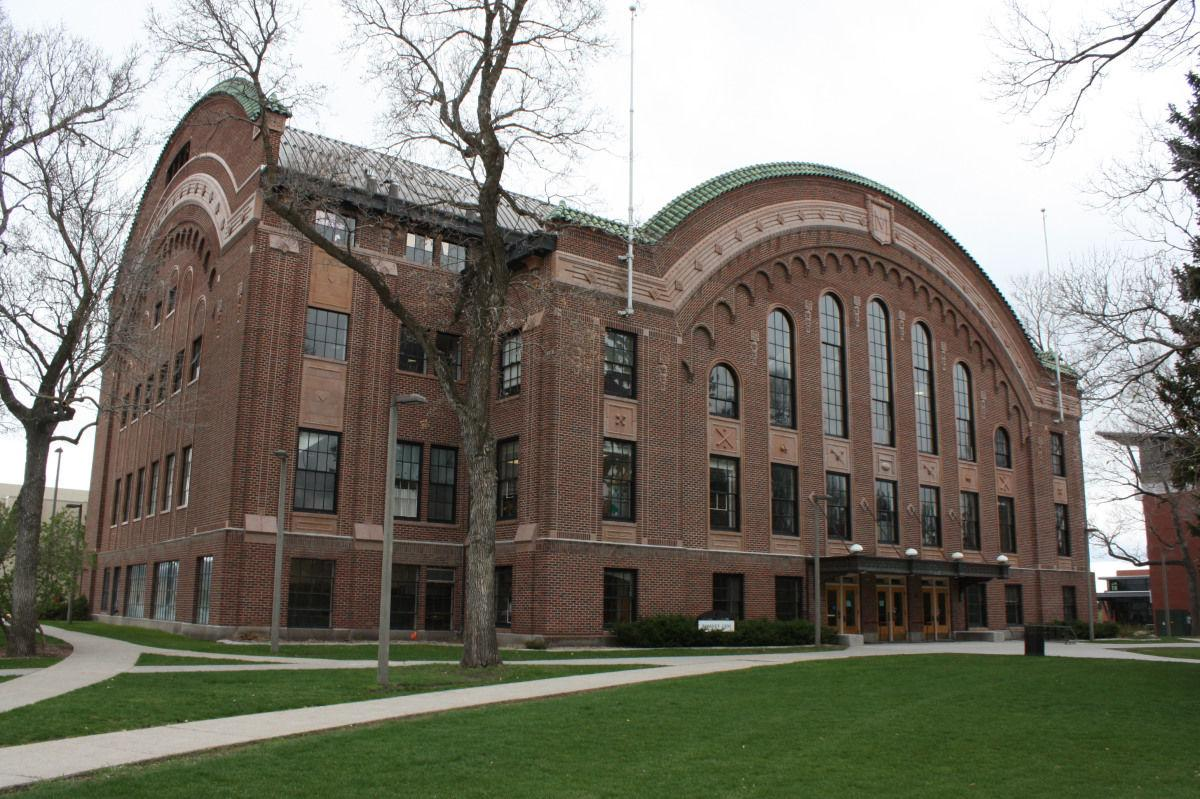 Romney Hall on the campus of Montana State University in Bozeman.