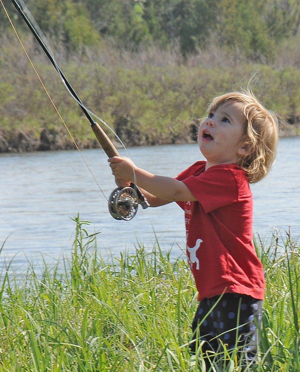 Free fishing for kids