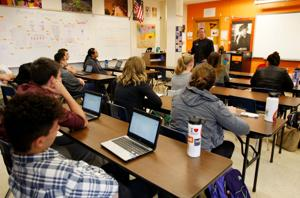 Senior High students get the low-down on Helena politics — all while getting college credit