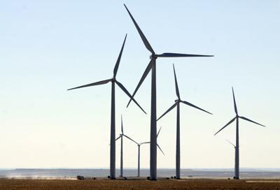 Judith Gap wind power turbine