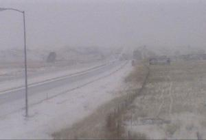 Drivers slide off highways all around Montana as snow, ice cover roads
