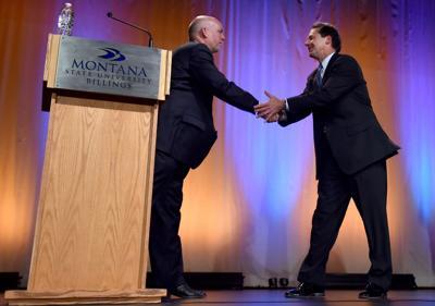 Montana Gubernatorial Debate photos, part 1