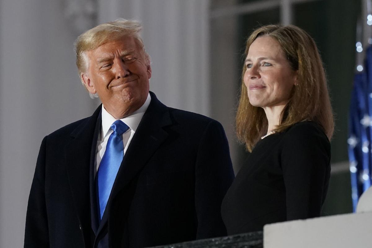 APTOPIX Trump Supreme Court Barrett