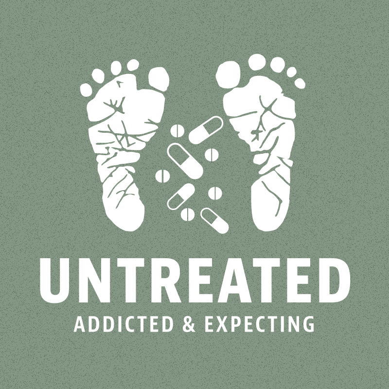 Untreated: Addicted and Expecting logo