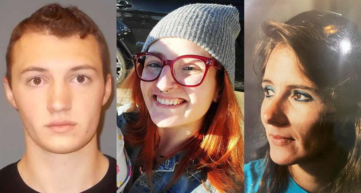 Henry Porter, Erika Miller and Roxann Watson