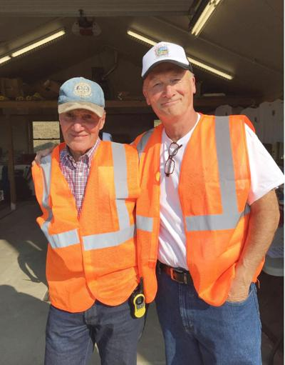 Ed Lord and Jim Jenner of the Philipsburg Rotary Club (MIS)