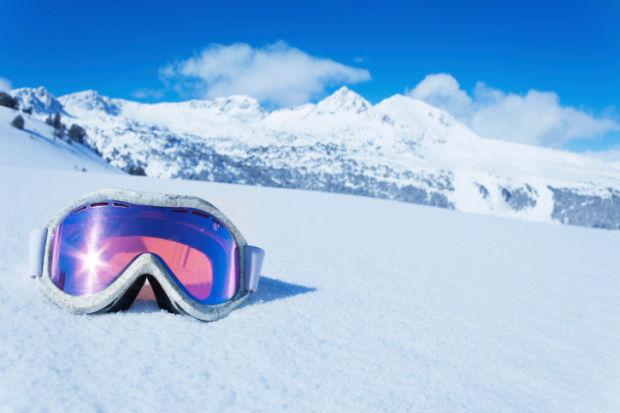 ski goggle stockimage