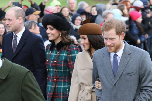 Kate Middleton And Meghan Markle Made Their First Public Appearance Together