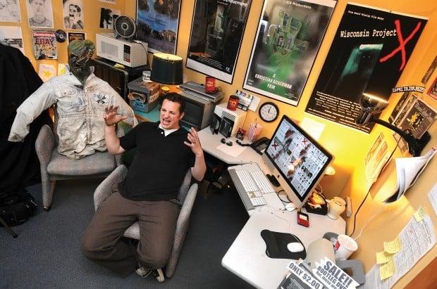 Missoula hobbyist horror filmmaker Christian Ackerman