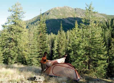 Kootenai Canyon trail