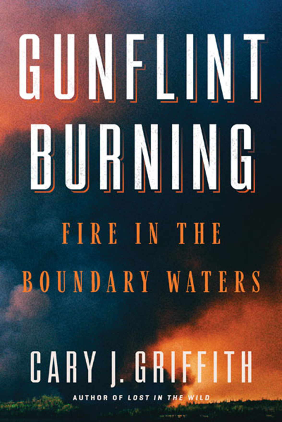 """""""Gunflint Burning: Fire in the Boundary Waters"""" by Cary J. Griffith"""