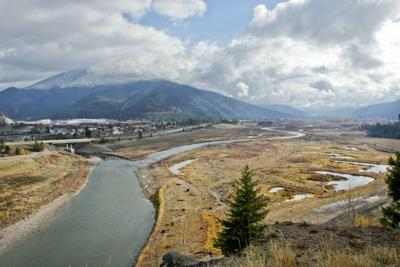 Confluence of Clark Fork and Blackfoot Milltown