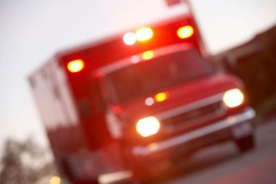 Ambulance stock image
