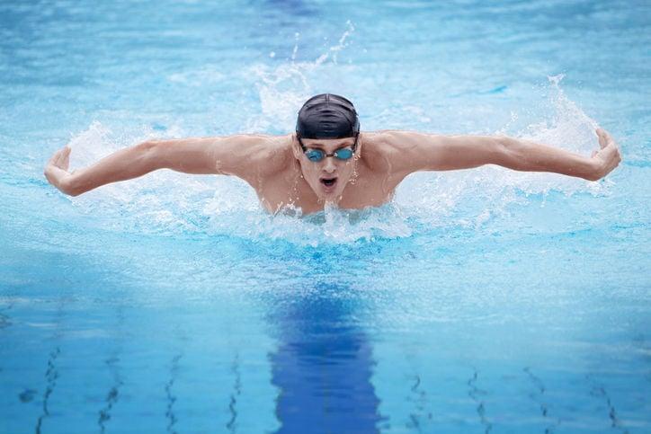 Adult swim lessons mastered