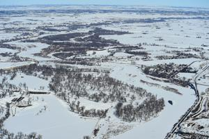Frozen Yellowstone River could give way to ice jams