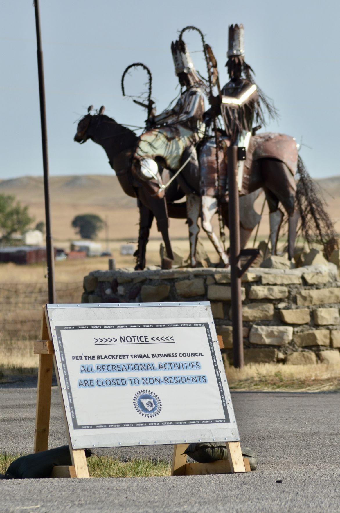 Blackfeet covid warning