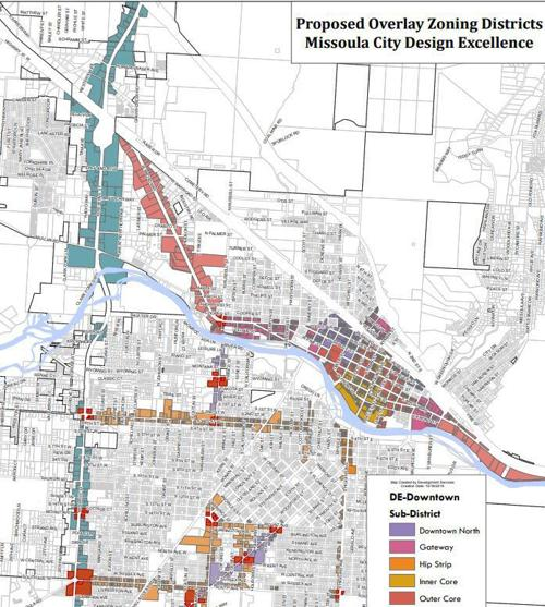 Design standards boundary map